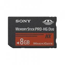 Memory Stick Pro HG Duo Card, 8GB