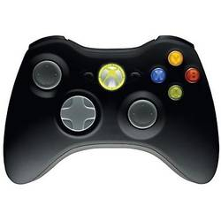 Gamepad Microsoft XBOX 360, Wireless, Negru