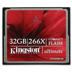 Ultimate Compact Flash, 32GB, 266x