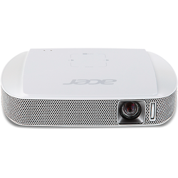 Videoproiector Acer C205, 150 ANSI, FWVGA, LED, Alb