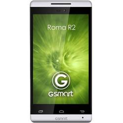 Smartphone GIGABYTE GSmart ROMA R2 Plus, Dual Sim, IPS LCD capacitive touchscreen 4.0'', Cortex-A7 1.3 GHz, 1GB RAM, 8GB flash, 5.0MP si 0.3MP, 3G, Android 4.4, Alb