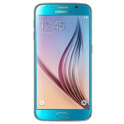 Galaxy S6 G920, Super AMOLED capacitive touchscreen 5.1'', Quad Core 2.1GHz si 1.5GHz, 3GB RAM, 32GB flash, 16MP si 5.0MP, NFC, Android 5.0.2, Albastru