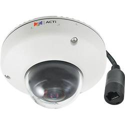 E919, Dome, Digitala, 1.19mm, 3MP, 1/3 Progressive Scan CMOS, Micro SDHC, Micro SDXC, Detectie miscare, Alb