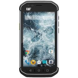 Smartphone Caterpillar CAT S40, Dual SIM, 1GB RAM, 16GB, Quad Core 1.1GHz, 4.7'' IPS LCD touchscreen, 8MP, IP67, 810G, Bluetooth, GPS, LTE, Negru