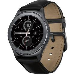 Gear S2 Classic, 1.2'' Super AMOLED Touch, 512MB RAM, 4GB, Bluetooth 4.1, Negru