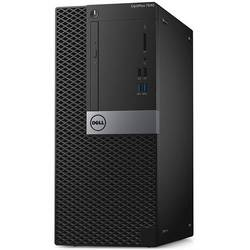 Optiplex 7040 MT, Core i5-6500 3.2GHz, 8GB DDR4, 500GB HDD, Intel HD 530, Linux, Negru