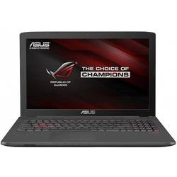 ROG GL752VW-T4015D, 17.3'' FHD, Core i7-6700HQ 2.6GHz, 8GB DDR4, 1TB HDD, GeForce GTX 960M 4GB, FreeDOS, Negru Metalic