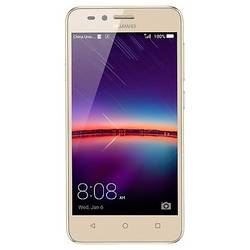 Y3II, Dual SIM, 1GB Ram, 8GB, 5MP, 4.5'' Capacitive touchscreen, Android Lollipop, 4G, Auriu