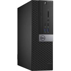 OptiPlex 3040 SFF, Core i3-6100 3.7GHz, 4GB DDR3, 500GB HDD, Intel HD 530, Win 7 Pro 64bit + Win 10 Pro 64bit, Negru
