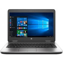 Laptop HP ProBook 640 G2, 14.0'' FHD, Core i5-6200U 2.3GHz, 4GB DDR4, 128GB SSD, Intel HD 520, FingerPrint Reader, Win 10 Pro 64bit, Argintiu