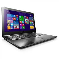 Yoga 500-15ISK 14.1'', Core i5-6200U, 4GB DDR3, 128GB SSD, Intel HD Graphics 520, Multitouch, Windows 10, Negru