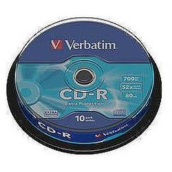 CD-R 52X 700MB Extra Protection, Spindle