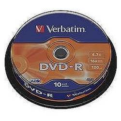 DVD-R AZO 16X 4.7GB Matt Silver Spindle (10 buc)