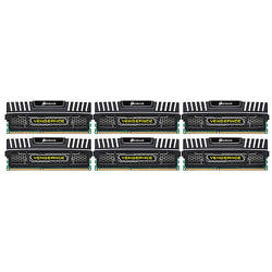 24GB DDR3, 1333 MHz, CL9, Kit Tri Channel, (6 x 4GB), Vengeance