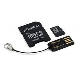 Micro SDHC, 8GB, Card + Reader + Adaptor