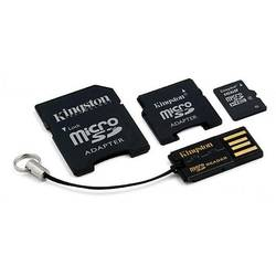 Micro SDHC, 16GB, Card + Reader + Adaptor