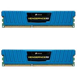 DDR3, 8GB (2 x 4GB), 1600MHz, CL9, Vengeance Blue LP, Rev. A