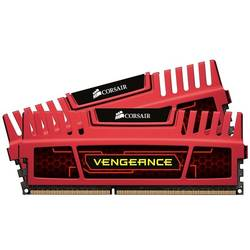 DDR3 16GB 1866 MHz, Kit Dual Vengeance RED