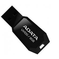 UV100, 8GB USB 2.0, Capless, Black