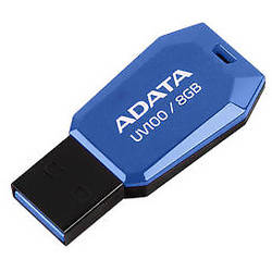 UV100, 8GB USB 2.0, Blue