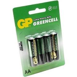 Baterie GP Batteries GP15G-BL4,  4x AA Zinc-Carbon, Blister