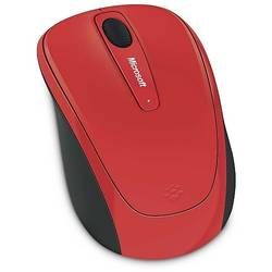 Wireless Mobile 3500, BlueTrack, Flame Red Gloss