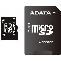 Micro SDHC, 8GB, class10, adaptor SD inclus