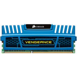 Vengeance Blue, DDR 3, 8GB, 1600 MHz, CL 10