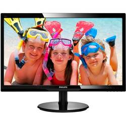 246V5LSB/00, 24 inch, Full HD, 5ms, VGA, DVI, Negru