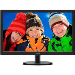 223V5LSB/00, 21.5 inch, Full HD, 5ms, VGA, DVI, Negru