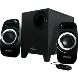 Boxe 2.1  Creative Inspire T3300, 27W RMS, 3.5 mm Jack, Negre