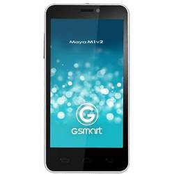 GSmart Maya M1 v2, IPS LCD capacitive touchscreen 4.5'', Quad Core 1.2GHz, 1GB RAM, 4GB, 8.0MP, Android 4.2.1, Dual SIM, Alb