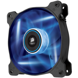 AF120 LED Blue, Quiet Edition High Airflow 120mm Fan