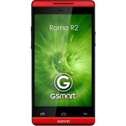 GSmart Roma R2, IPS LCD capacitive touchscreen 4.0'', Dual-core 1.3GHz, 1024MB RAM, 4GB, 5MP, Android 4.2, Rosu