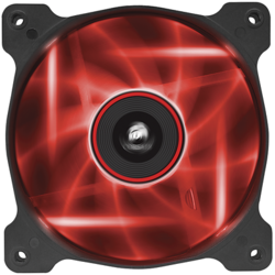 AF120 LED Red, Quiet Edition High Airflow 120mm Fan