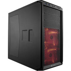 Graphite 230T Windowed, MiddleTower, Fara sursa, Negru