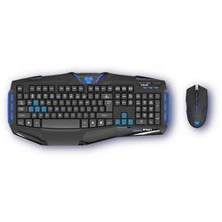 Kit tastatura + mouse E-Blue Cobra Reinforcement - Iron Professional, USB, Negru