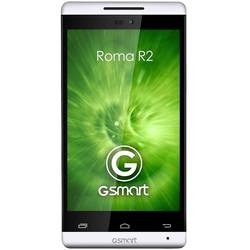 GSmart Roma R2, IPS LCD capacitive touchscreen 4.0'', Dual-core 1.3GHz, 1024MB RAM, 4GB, 5MP, Android 4.2, Alb