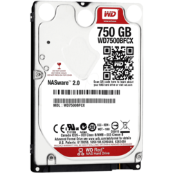 Red 750GB SATA 3, 5400rpm, 8MB, 2.5 inch