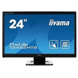 Monitor LED IIyama ProLite T2452MTS, 23.6'', FHD, Touchscreen, 2 ms, Negru