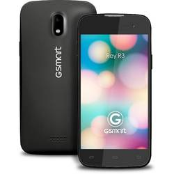 GSmart Rey R3, dual SIM, IPS LCD capacitive touchscreen 4.5'', Dual Core 1.3GHz, 1GB RAM, 4GB Flash, 8.0MP, Android 4.2, Negru