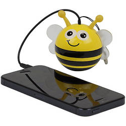 "Trendz Mini Buddy ""Bee"", Jack 3.5 mm, Galben / Negru"