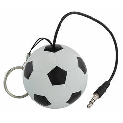 "Trendz Mini Buddy ""Football"", Jack 3.5 mm, Alb / Negru"