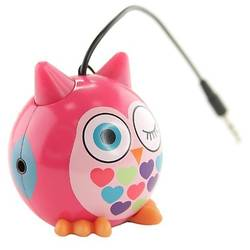"Trendz Mini Buddy ""Owl"", Jack 3.5 mm, Roz"