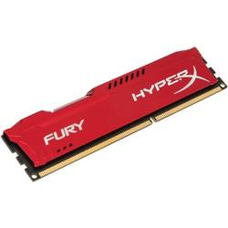 HyperX Fury Red DDR3 8GB 1600 MHz, CL10