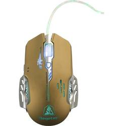 Mouse Gaming Segotep Colorful G780LED, Optic, 4000dpi, USB, Galben