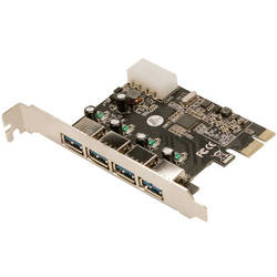 Adaptor PCI-Express Card, 4 x USB 3.0, Logilink PC0057A