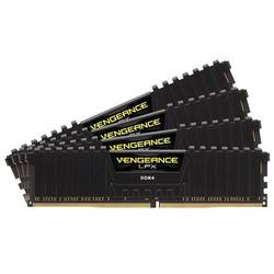 Vengeance LPX Black 16GB DDR4 2400MHz CL14 Kit Quad Channe
