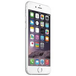 iPhone 6, LED backlit IPS LCD capacitive touchscreen 4.7'', Dual Core 1.4 GHz, 1GB RAM, 16GB, 8.0MP, PowerVR GX6450, 4G, iOS 8, Argintiu