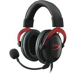 HyperX Cloud II, 7.1, Rosu